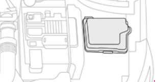 Схема предохранителей Citroën C4 Cactus