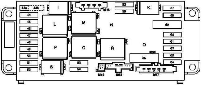 00-'07 Mercedes C-Class (W203) Fuse Box Diagram | Windshield Wiper For 2000 Mercedes C230 Kompressor Fuse Box |  | knigaproavto.ru