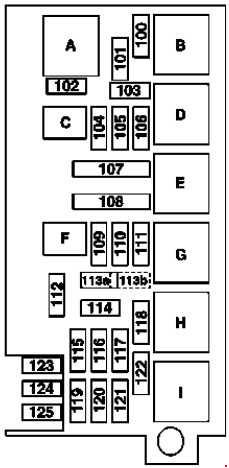 mercedes ml w164 fuse box diagram  2005 u20132011   u00bb fuse diagram