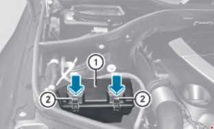 Схема предохранителей и реле Mercedes-Benz W164 и X164 (ML и GL; 2005–2011)