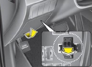 Схема предохранителей и реле Hyundai Santa Fe (CM, 2006–2012)