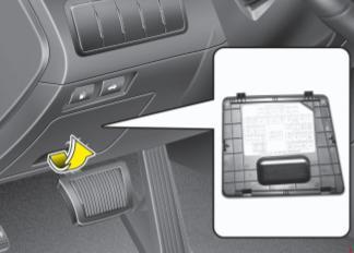 2011-2016 Kia Cadenza VG Fuse Box Diagram