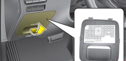 2017-2018 Kia Cadenza IG Fuse Box Diagram