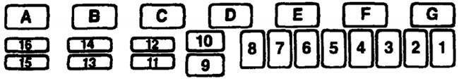engine compartment fuse box  jeep cherokee xj fuse box diagram (1984–1996)