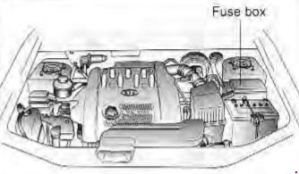 1998–2006 Kia Sedona / Carnival Fuse Box Diagram