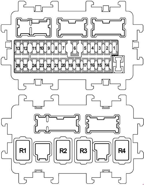 2008 2014 nissan teana j32 fuse box diagram fuse diagram rh knigaproavto ru