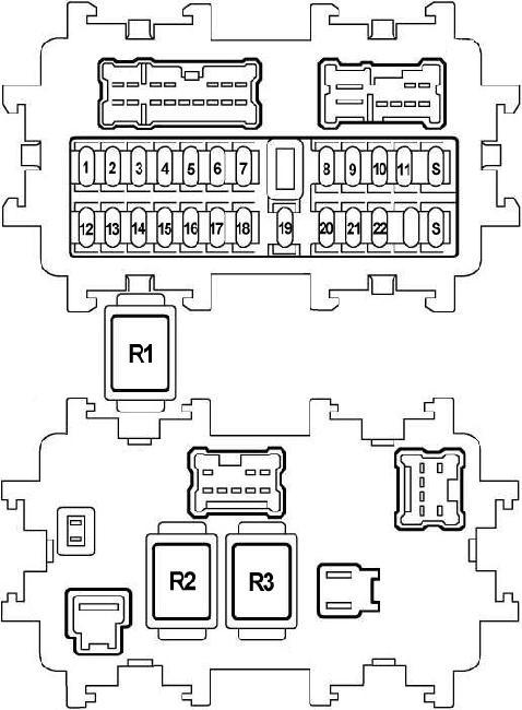 2003 2008 nissan teana j31 fuse box diagram fuse diagram rh knigaproavto ru