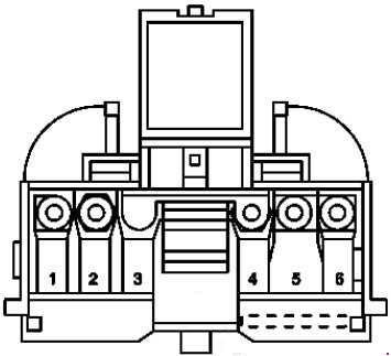 2004-2010 mercedes-benz slk (r171) fuse diagram