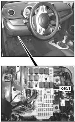 2004–2006 smart forfour w454 fuse diagram