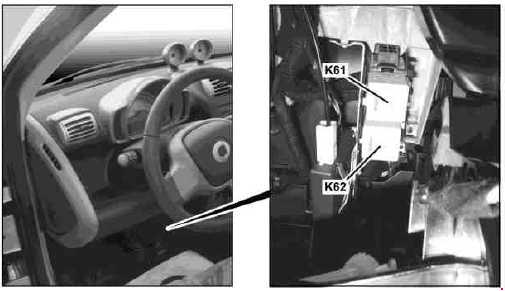 Smart Car Fortwo Fuse Box Location : Smart fortwo fuse box diagram