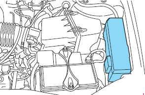 2008-2012 ford escape fuse box diagram  up to 2009