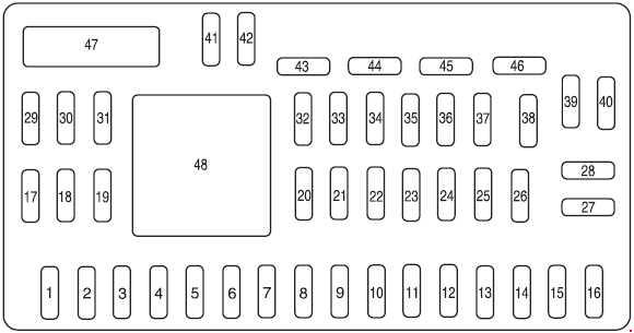 2008-2012 ford escape fuse box diagram » fuse diagram  knigaproavto.ru