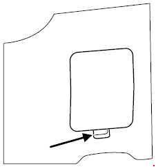 2001-2007 Ford Escape fuse box diagram