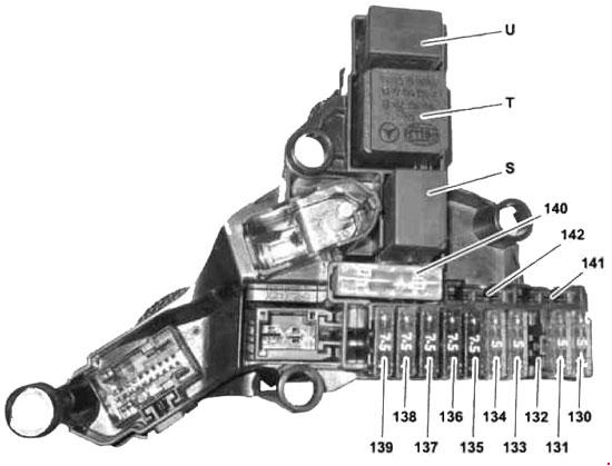 2009 Mercedes E350 Fuse Box Diagram : Mercedes benz e class w fuse diagram