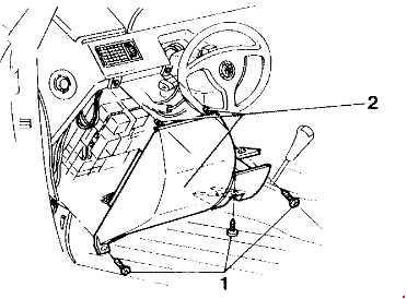 Alfa Romeo 155 Fuse Box Diagram