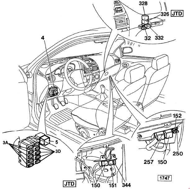 fiat marea fuse box diagram  u00bb fuse diagram