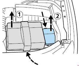 2000-2007 Ford Mondeo MK3 Fuse Box Diagram