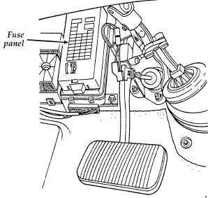 1995-1999 Ford Taurus fuse box diagram » Fuse Diagram | 99 Ford Taurus Fuse Diagram |  | knigaproavto.ru