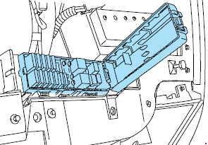 2000-2005 Mercury Sable Fuse Box Diagram