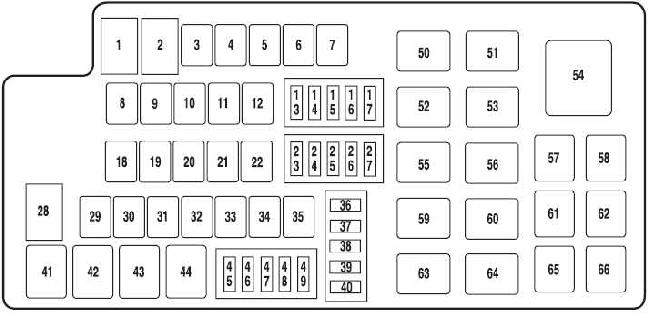 2010 ford taurus fuse box  u2022 wiring diagram for free