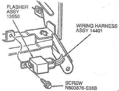 t18936_knigaproavtoru06032835 1985 1995 ford taurus and mercury sable fuse box diagram fuse House Fuse Box Location at gsmx.co
