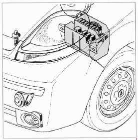 2001-2014 Opel / Vauxhall Vivaro A fuse box diagram