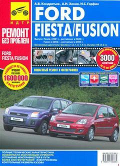 Цветные схемы электрооборудования Ford Fusion / Fiesta с 2001, рестайлинг с 2006 г.