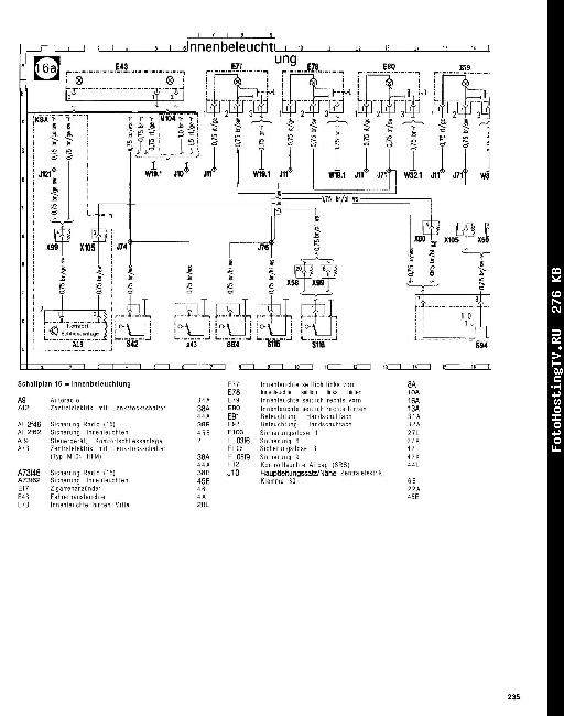 Скачать Схемы электрооборудования Mercedes Vito.