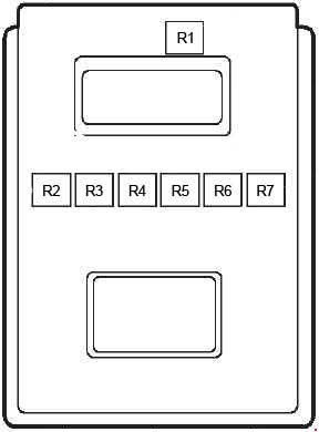 1997-2002 Ford Fiesta Mk4 Fuse Box Diagram
