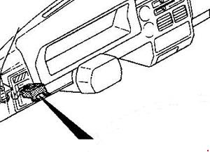 1985   1998    Mazda    B2000  B2200     B2600       Fuse       Box       Diagram