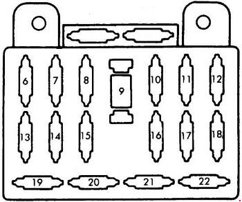 mazda b2600 fuse box data wiring diagram Mazda 626 Fuse Box Diagram