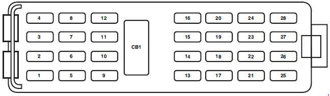 2005-2010 ford explorer u251 fuse box diagram