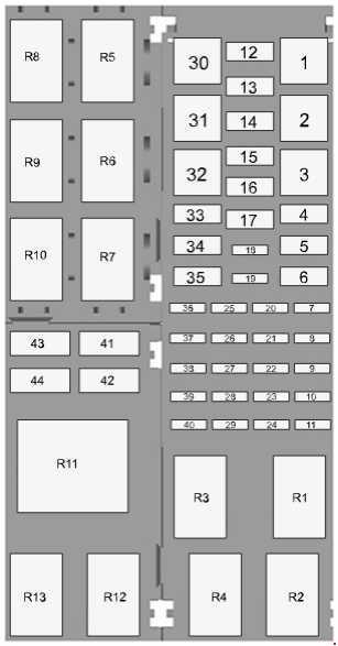 2014 2018 ford figo and ford figo aspire fuse box diagram fuse diagram rh knigaproavto ru