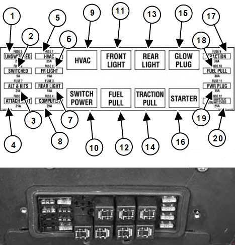 bobcat s185 fuse box diagram  u00bb fuse diagram