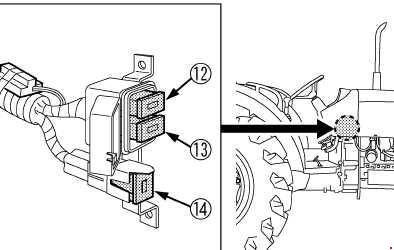 337 Kubota M6040 M7040 M8540 M9540 Fuse Box Diagram