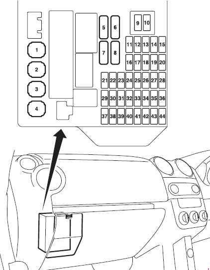 2008–2012 mitsubishi colt (z30) fuse box diagram » fuse diagram  knigaproavto.ru