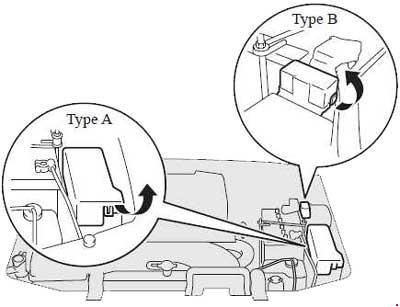 Схема предохранителей Mitsubishi Pajero IV (2006-н.в.)