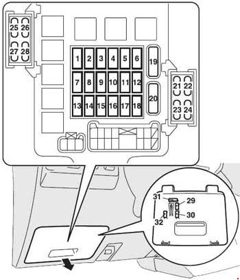 t19246_knigaproavtoru08114133 2006 2015 mitsubishi pajero fuse box diagram fuse diagram mitsubishi pajero fuse box diagram location at edmiracle.co