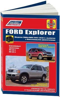 Схема предохранителей и реле Ford Explorer U152 (2000-2006)