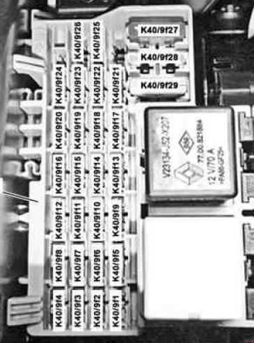 mercedes benz citan w415 fuse box diagram fuse diagram rh knigaproavto ru Mercedes OEM Parts Diagram Mercedes 230 SLK Wiring Diagrams