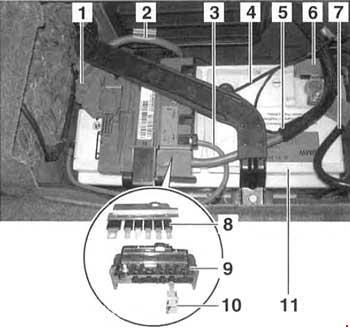 05-'10 BMW 3 (E90, E91, E92, E93) Fuse Diagram | Bmw E92 Fuse Box Diagram |  | knigaproavto.ru