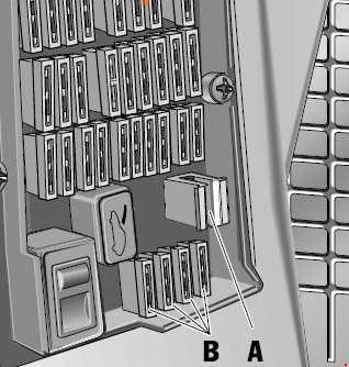 96-'04 porsche boxster (986) fuse box diagram  knigaproavto.ru
