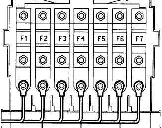 96-'04 Porsche Boxster (986) Fuse Box Diagram | Porsche Boxster 986 Fuse Box Location |  | knigaproavto.ru