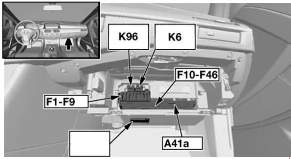 2004-2010 BMW 6 (E63, E64) Fuse Box Diagram » Fuse Diagram