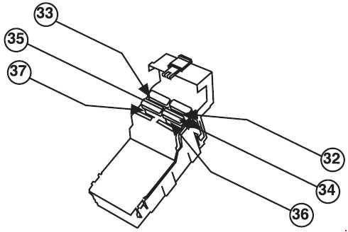 Peugeot 405 Fuse Box Diagram
