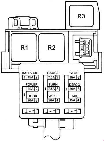 t19416_knigaproavtoru09055914 1989 1999 toyota mr2 (w20) fuse box diagram fuse diagram toyota mr2 fuse box diagram at reclaimingppi.co