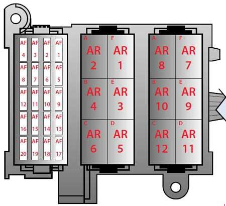 t19463_knigaproavtoru09073017 2004 2009 ferrari f430 fuse box diagram fuse diagram ferrari f430 fuse box location at n-0.co