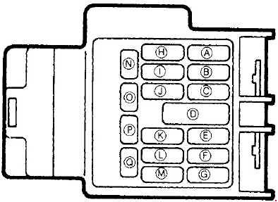1989\u20131997 mazda mx 5 fuse box diagram fuse diagram Junction Box Diagram the instrument panel fuse panel