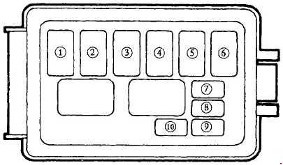 1989 u20131997 mazda mx 5 fuse box diagram  u00bb fuse diagram