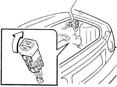 1989–1997 Mazda MX-5 Fuse Box Diagram